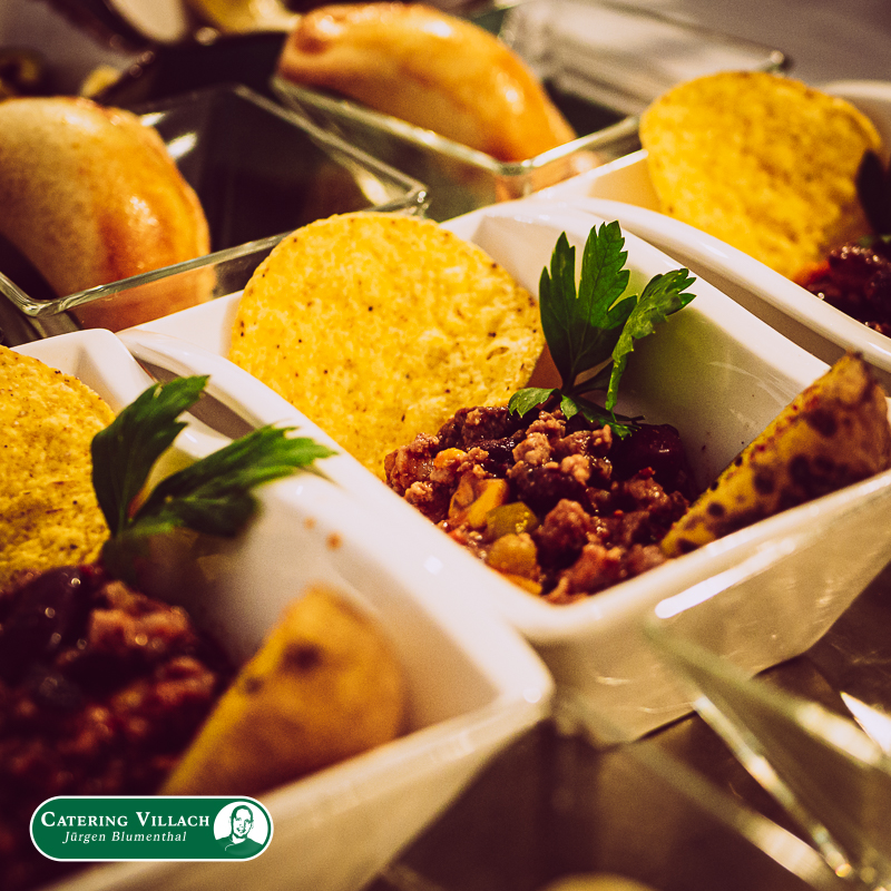 Fingerfood Chili con Carne